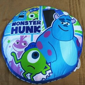 Disney Cool Round Cushion Monsters Inc